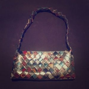 Handbags - Recycled Wrapper Clutch